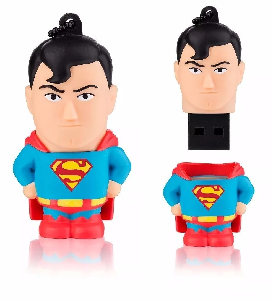 Pen Drive Superman Comics 8GB - MULTILASER