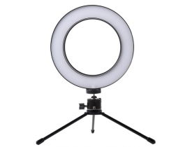 "Ring Light 6"" Com Tripe"