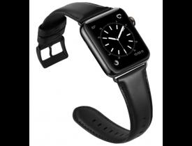 Pulseira Platinum Genuine Leather Band Apple Watch