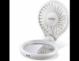 Mini Ventilador com Espelho de Maquiagem - Joyroom
