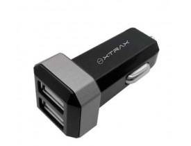 Carregador Veicular 2 Portas USB - Xtrax