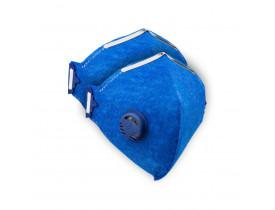 Kit (2x) Respirador/Mascara N95 PFF-2 Com Válvula - Certificado Anvisa