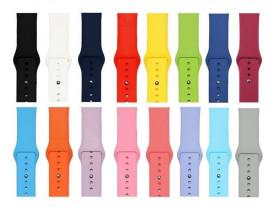 Pulseira de Silicone Para Apple Watch