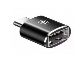 Adaptador USB Fêmea para USB-C Macho - BASEUS