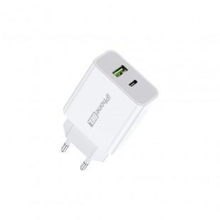 Fonte Carregador iPhoneBEL Turbo USB + Tipo-C 42w - iPhoneBEL
