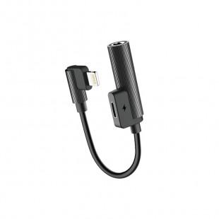 Adaptador Lightning para Fone 3.5MM e Charge - Rock