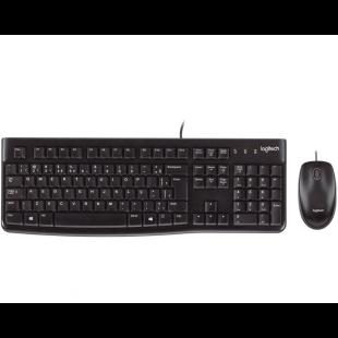Combo Teclado e Mouse C/ Fio MK120 Preto - Logitech