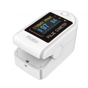 Oxímetro de Dedo Sensor Duplo HealthStay OLED - IPMS-50D