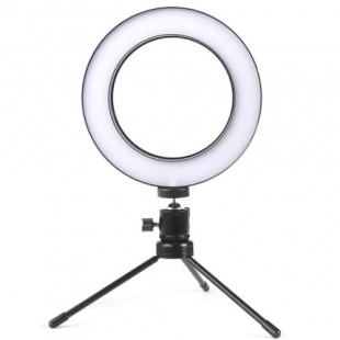 "Ring Light de LED 6,5"" Com Tripe"