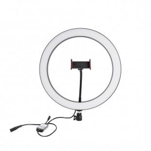 "Ring Light 12"" Com Suporte Para Smatphone"
